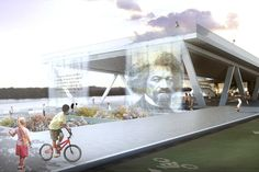 OMA + OLIN Selected to Design D.C.'s 11th Street Bridge Park