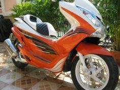 Click to close image, click and drag to move. Use arrow keys for next and previous. Scooter Bike, Motorcycle Bike, Boat Furniture, Arrow Keys, Motorcycles For Sale, Close Image, Monkey, Honda, Thailand