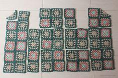 Tejiendo un clásico: tu propia chaqueta granny - Pull Crochet, Hippie Crochet, Love Crochet, Crochet Granny, Learn To Crochet, Black Crochet Dress, Crochet Coat, Crochet Jacket, Crochet Cardigan
