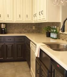 So what does everyone think about the two tone cabinets?