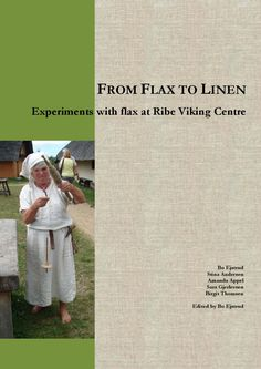 From flax to linen: Experiments with flax at Ribe Viking Centre by Maritime Archaeology Programme, University of Southern Denmark - issuu Basket Weaving, Hand Weaving, Flax Fiber, Viking Reenactment, Viking Culture, Spinning Yarn, Art Textile, Steel Wool, Clothing And Textile
