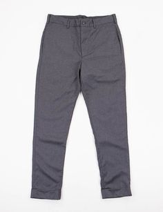 Engineered Garments Grey Worsted Wool Cinch Pant