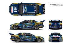 nickmossdesign.com - 2011 FPR Orrcon Car 5 Livery Design