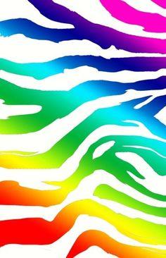 Neon Zebra Stripes!!