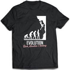 Rock climbing T-Shirt. Rock climbing tee present. Rock by TeeDino