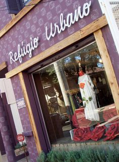 fachada de loja de roupas