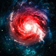 Galáxia Estrela Espaço