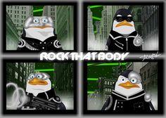 ♫The Penguins Rock that Body♫ - penguins-of-madagascar Fan Art