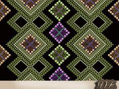 Seamless pattern with beads geometrical от DigitalFuzzyfox на Etsy