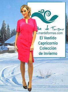 El Vestido Capricornio Búscalo en nuestra colección de Invierno http://www.mardeformas.com/es/217-vestido-capricornio.html