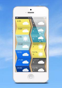 お天気ニュースアプリのUIができるまで - SmartPhone GiRL's BLOG