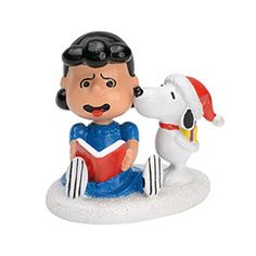 Snoopy's Christmas Kiss - Department 56 - Peanuts Village