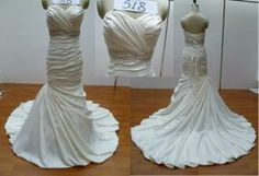 New Custom Made Maggie Sottero Inspired Bridal Gown  - $400.00