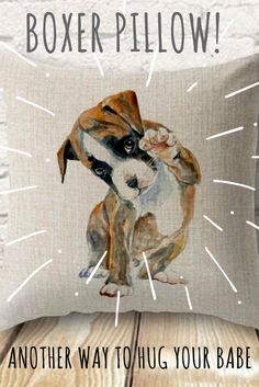 The pillows that make cuddling with your boxer even more special