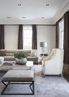 #LivingRoom at #EatonPlace, London www.tlastudio.co.uk