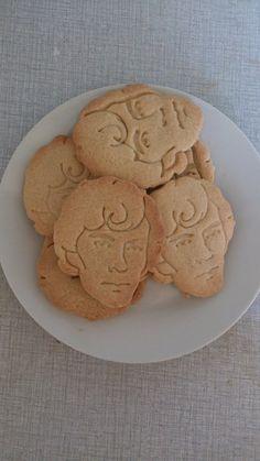 Cumberbatch of Sherlock cookies
