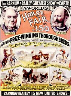 Barnum & Bailey Horse Fair Poster