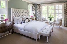 Bedroom Paint Color. Benjamin Moore Green Paint Color. Benjamin Moore Iced Marble #BenjaminMooreIcedMarble