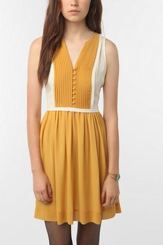 cooperative milly colorblock dress
