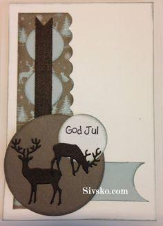 Bare 9 måneder til jul  Her er mine julekort i denne måned
