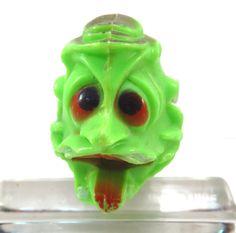 Green Monster Squirt Gun Vintage 1960s Monster Water Gun Play Toy by VintageCreekside on Etsy