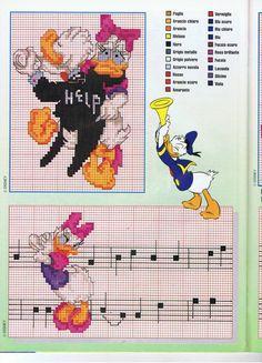 Donald e Margarida dançando