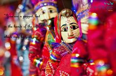 Be an audience to Rajasthan's traditional. puppet show . Set your foot in this incredible state Visit #India with #JFA to experience it.