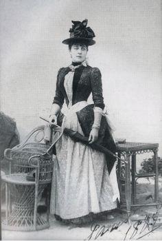 Zinaida Skobelyeva, Duchess of Leuchtenberg. She was married to  Eugène von Leuchtenberg, while having an affair with his cousin Grand Duke Alexei. The Grand Duke paid for her husband's debts, and their understanding continued until her death in 1899.