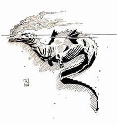 Leviathan by KejnaArtwork