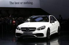 The Mercedes-Benz 2014 E 63 AMG S 4matic debuts at #NAIAS