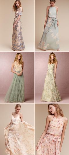 Love Blooms! Romantic Floral Bridesmaid Dresses Your Girls Will Love!