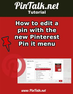How to move Pinterest pins from one board to another. How to move Pinterest pins from one board to another http://pintalk.net/how-to-move-pinterest-pins-from-one-board-to-another/ via @pintalk #socialmedia #tutorial