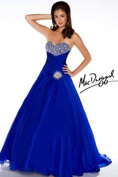 Coral Ball Gown - Mac Duggal