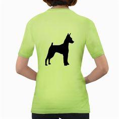 Min+Pin+Silo+Black+Women's+Green+T-Shirt
