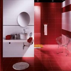 Red Bathroom Ideas Pictures