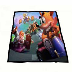 Crash Bandicoot And Racing Team Fleece Blankets  https://www.artbetinas.com/collections/fleece-blankets/products/dd_crash_bandicoot_and_racing_team_fleece_blankets