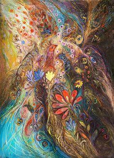 Painting by Elena Kotliarker