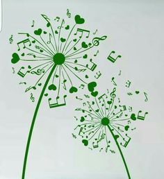 Background with dandelion and hearts. - Background with dandelion and hearts. Illustration of Background with dandelion and hearts. vector art, clipart and stock vectors. Music Tattoos, Tatoos, Rib Tattoos, Music Tattoo Designs, Word Tattoos, Silkscreen, Music Drawings, Note Tattoo, Pyrography