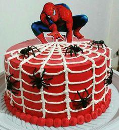 Spiderman Cake Ideas for Little Super Heroes - Novelty Birthday Cakes Birthday Cake Kids Boys, Spiderman Birthday Cake, Spiderman Theme, Superhero Cake, Superhero Birthday Party, 19 Birthday, Cake Birthday, Rodjendanske Torte, Novelty Birthday Cakes