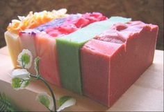 My SWANKY Cold Process Soap Collection. Soap making is one of my favorite hobbies.