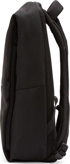 Côte & Ciel Black Rhine New Flat Backpack