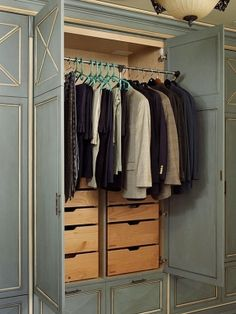 Metal Closet Rods Create Seasonal Storage With A Pull Down Closet Rodof Course This