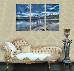 Find More Painting & Calligraphy Information about PF3131 Printed & Internal Framed 3 panel oil painting on canvas wall art pictures for home decor lake & mountain & clouds shadow,High Quality painting model car bodies,China painting van Suppliers, Cheap painting with acrylics on canvas from Oriental Artwork on Aliexpress.com