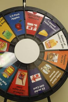 Customer Appreciation Day! Come spin the prize wheel to see what you can win...many many products on sample...lots of specials. Buy this Prize Wheel at http://PrizeWheel.com/products/tabletop-prize-wheels/.