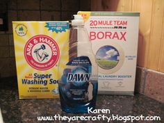 They Are Crafty: Home Made Liquid Laundry Soap