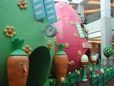 Paasdecoratie in Wijnegem Shopping Center