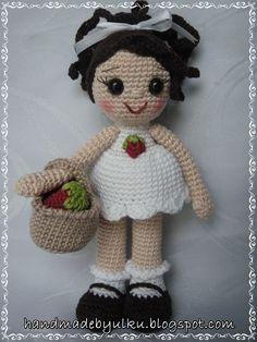 Amigurumi Strawberry Doll