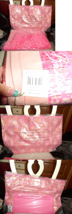 Mixed Items and Lots 15738: Vera Bradley Camocat Pink Beach Set - Mesh Sequin Tote And Beach Towel, -> BUY IT NOW ONLY: $75.99 on eBay!