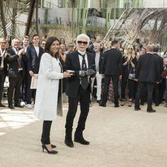 Paris Mayor Anne Hidalgo awards Karl Lagerfeld with La Médaille Grand Vermeil de la Ville (342437)