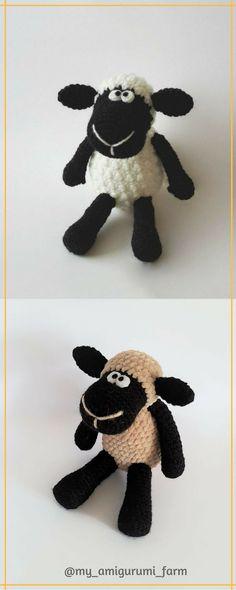 Cute crochet animals, amigurumi patterns